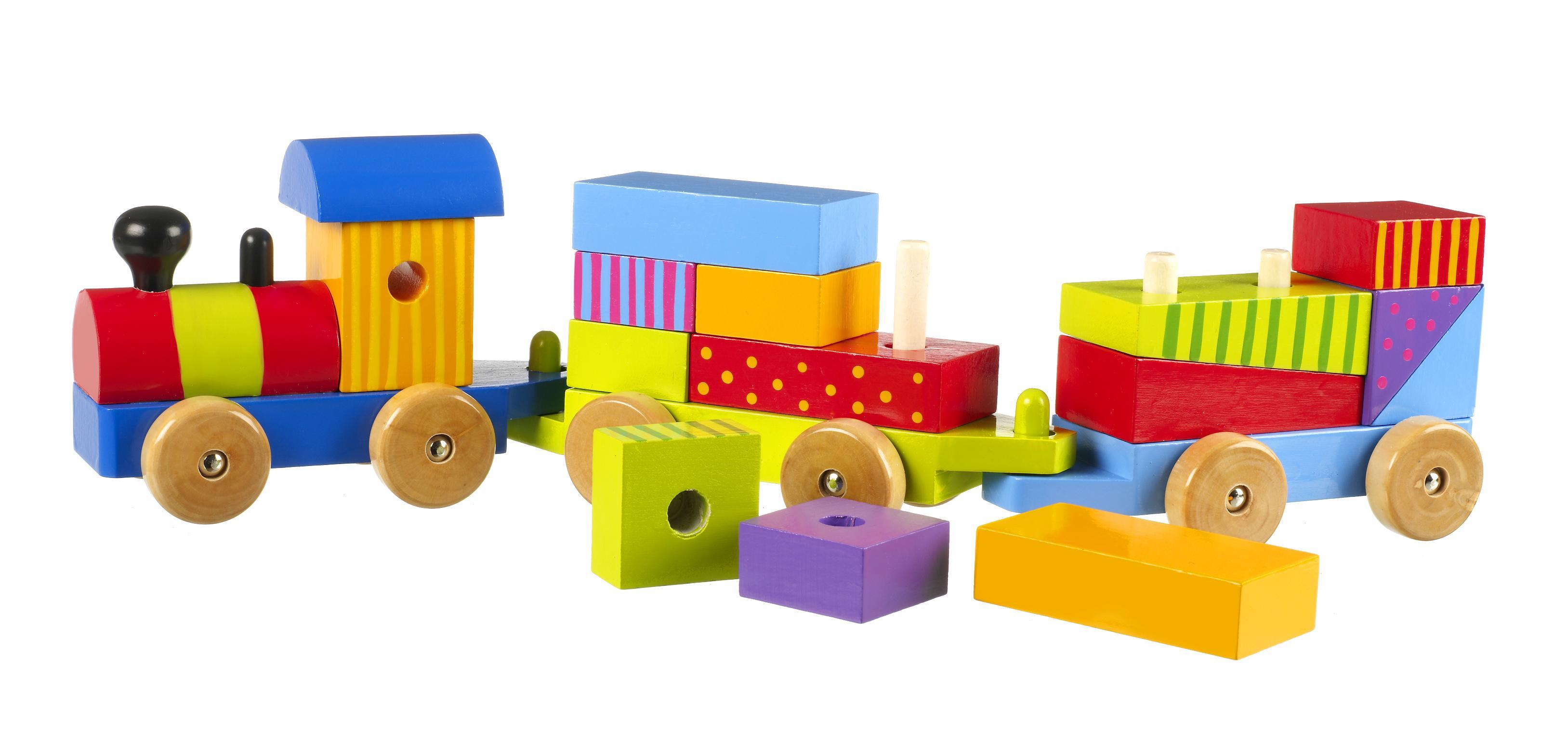 Tree Toys Puzzle Train