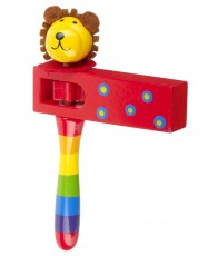 Orange Tree Toys Lion Turning Clacker