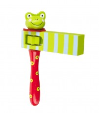 Orange Tree Toys Frog Turning Clacker