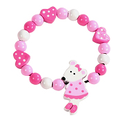 Orange Tree Toys Pink Mouse Bracelet