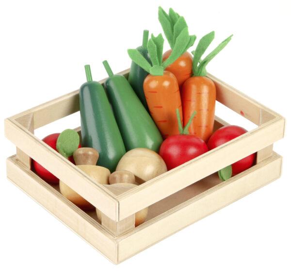 Tidlo Wooden Winter Vegetables
