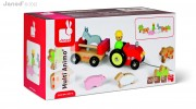 Janod Multi Animo Tractor – Packaging