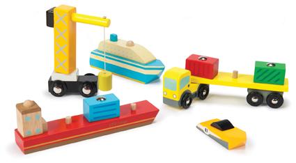 Le Toy Van Dock and Harbour Set