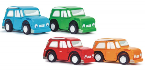 Le Toy Van Whizzy Pull Back Cars