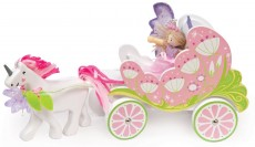Budkins Carriage, Unicorn & Fairy