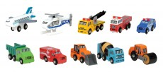 Tildo Wooden Vehicles - Choose from 10 Different Types