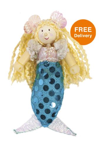 Budkins Mermaid Oceane - Free Delivery