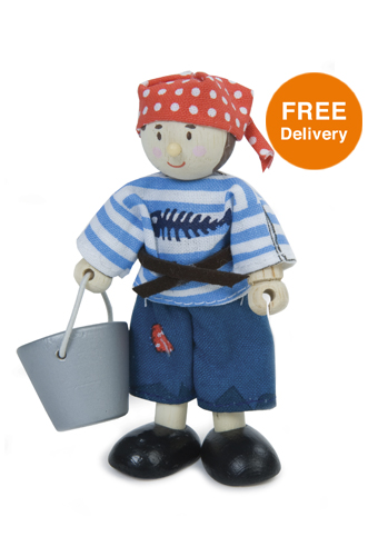 Budkins Jacob the Pirate - Free Delivery
