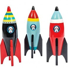 Le Toy Van Pelmel Space Rocket