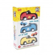 Le Toy Van Pull Back Racers – Packing