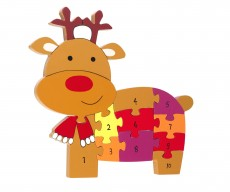 Orange Tree Toys Reindeer Number Puzzle