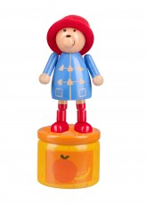 Orange Tree Toys Paddington Bear Push Up