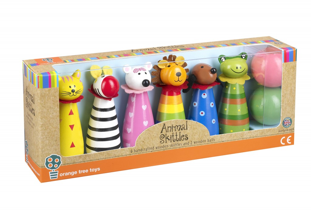 Orange Tree Toys Animal Skittles