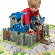 TV235 Excalibur Castle Life Style on Playmat Zoom