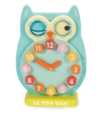 PL010 Blink Owl Clock