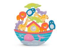 TV214 Noah's Balancing Ark all animals stacked (med)