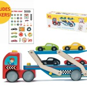TV444 Race Car Transporter Set Grouped images