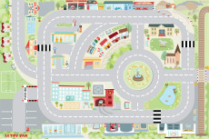 TV580 my first town playmat