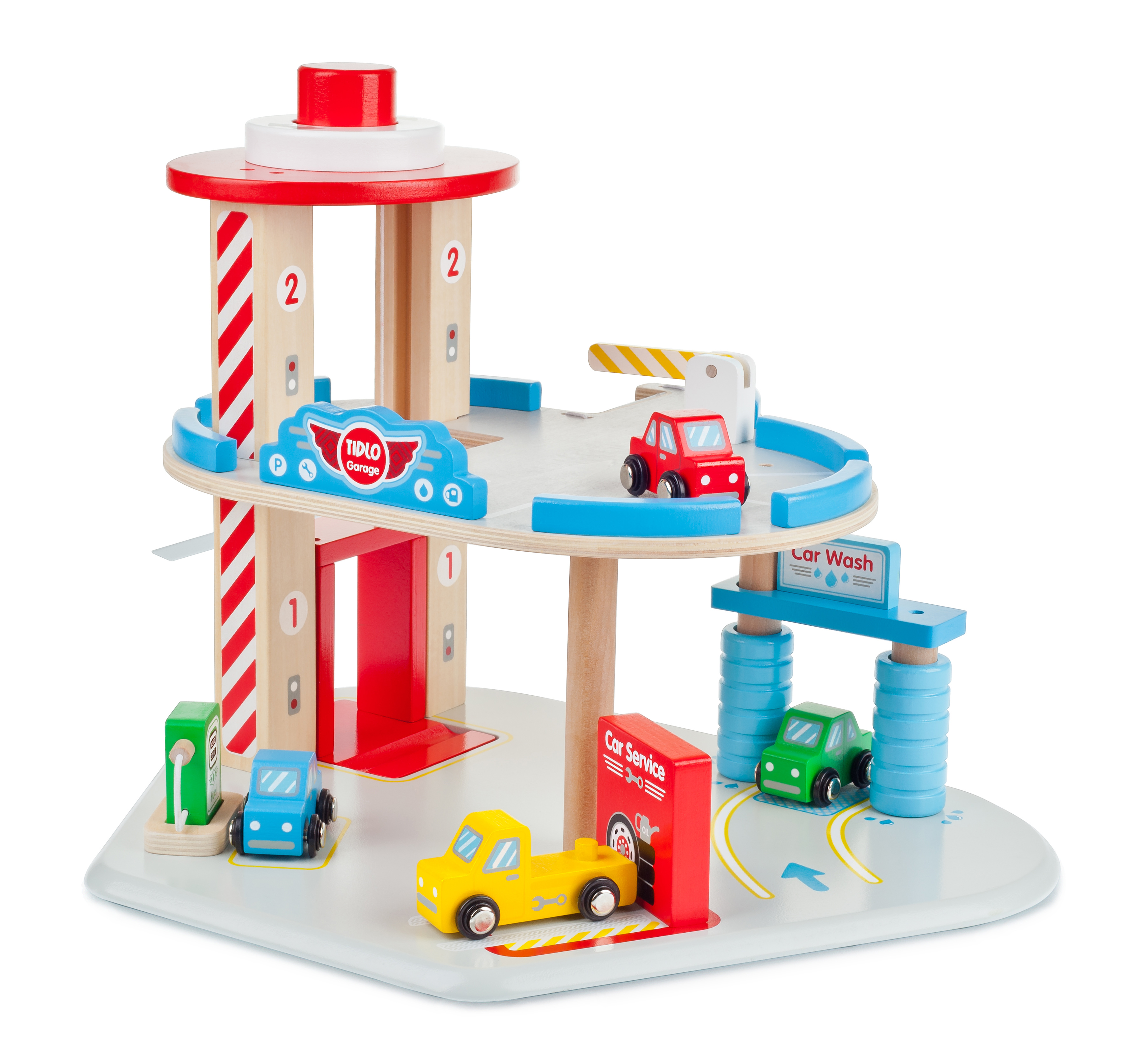 tidlo garage play set