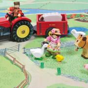 berties tractor at play
