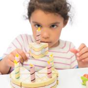 TV273 Vanilla Birthday Cake – Life Style Cut Slice (s)