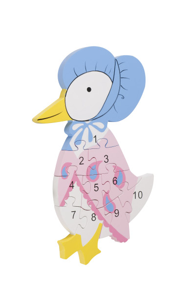 Number Puzzle - Jemima Puddle-Duck