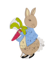 Number Puzzle - Peter Rabbit small