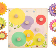 PL095 Gears & Cogs 'Busy Bee Learning' 1 small