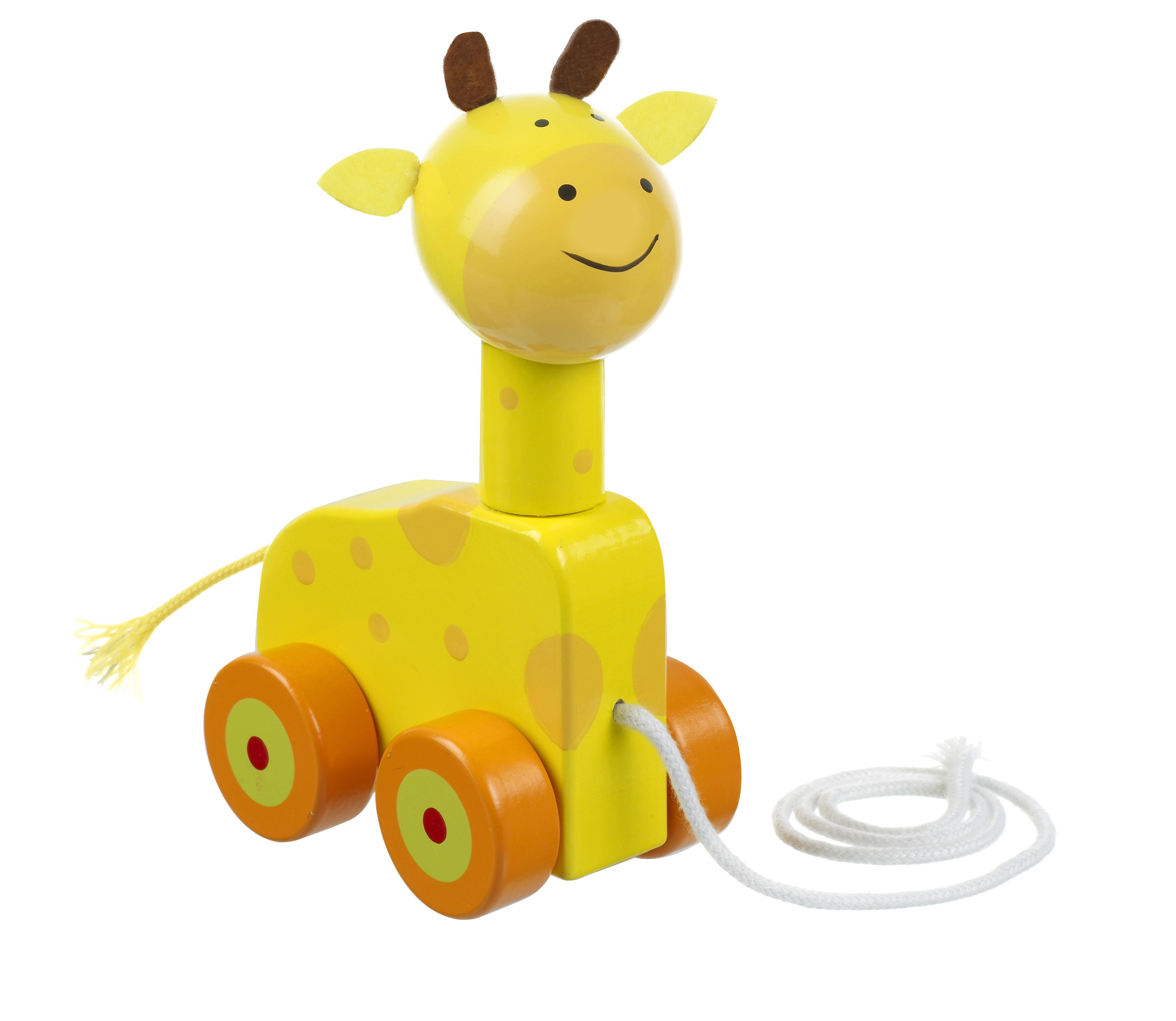 Orange Tree Toys Giraffe Pull Along