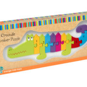 Number Puzzle – Crocodile – Packaging copy