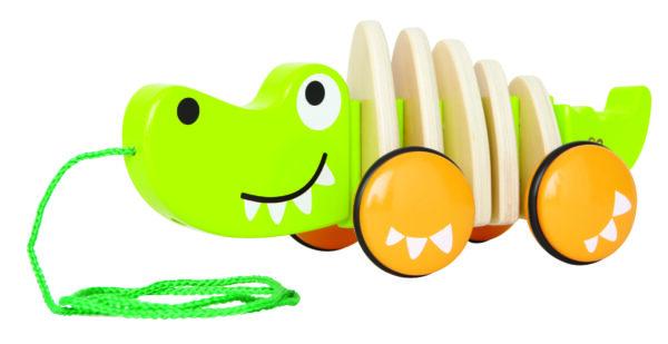 Hape E0348 E0348-Krokodil Croc Green Natur