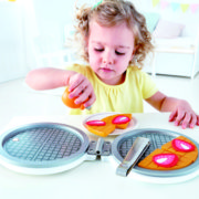 E3149 My First Waffle Maker with child-2 small