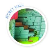 TV290 Lionheart Castle Secret Wall
