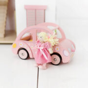 ME041-Sophie-Pink-Wooden-Toy-Car-Luggage-Doll