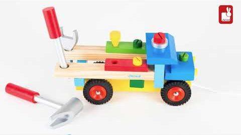 Janod - Camion de Bricolage Brico'Kids